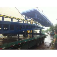 Wholesale Manual Hydraulic Mobile Loading Ramp 2300kg Weight Portable Forklift Ramp from china suppliers