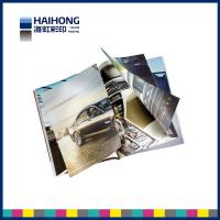 Wholesale Hot stamping , glossy art paper newsprint magazine printing / catalog printing from china suppliers