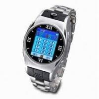 Quality Stainless Steel USB Bluetooth GPRS Wrist Watch Cell Phones Support Video Chat for sale