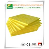 Wholesale Low moisture glass wool insulation blanket waterproof , fireproof from china suppliers