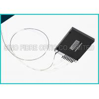 Buy cheap 8 Channels 45dB Fiber Optic Duplex Singlemode CWDM DEMUX Splitter from wholesalers