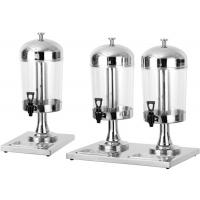 8L Per Tank Catering Buffet Equipment  Ice - Cold Style Stainless Steel Drink Dispenser