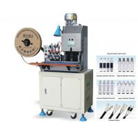 Wholesale 2 Pin Plug Wire Cut Strip Crimp Machine for NEMA Plug Type A from china suppliers