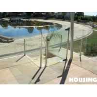 Wholesale Modern DIY Glass Balcony Balustrades for Residential Building from china suppliers