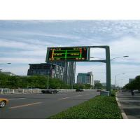 Wholesale Digital Outdoor Scrolling Led Electronic Moving Message Sign On Road , CE from china suppliers