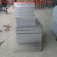 Buy cheap Free Sample building materials q235 galvanized steel grating welded grating/Grating from Metal Building Materials from wholesalers