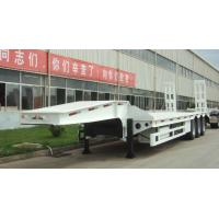 Wholesale brand new china  lowbed Semi-trailer 13m 16m with 4-axles excavator trailer. excavator trailer from china suppliers