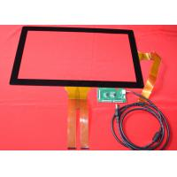 "Wholesale transparent 21.5"" Projected 10 Point Capacitive Touch Screen for Advertise Machine from china suppliers"