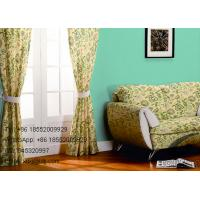 Wholesale Mixtual Floral Design Sofa Cover and Window Panel Curtains For Home / Hotel / Office from china suppliers
