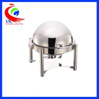 Wholesale Hotel Round Buffet Bain Marie Food Warmer Hot Pot Chafing Dish Roll - top from china suppliers