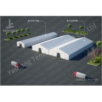Wholesale Emergency Industrial Marquee Outdoor Warehouse Tents Complex With Fabric Rain Gutter from china suppliers