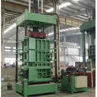 Wholesale 2.2 KW Power Vertical Cardboard Paper Baler Machine With Special Forklift from china suppliers
