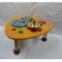Wholesale Play House Musical Multifunction Triangle Music Instrument Mix Table Preschool Wooden Toys from china suppliers
