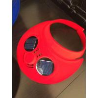 Wholesale Solar-powered Sports Cap with Fan, Measures 73 x 58.5 x 68cm from china suppliers