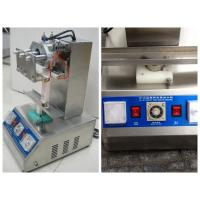 Wholesale Semi Auto Tube Filling Sealing Machine With Touch Screen , Cosmetic Tube Sealer from china suppliers
