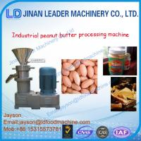 Quality peanut butter milling machine for sale to global for sale