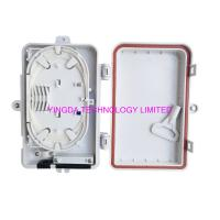 Quality 4 Port UV Weather Resistant FTTH Fiber Termination Box 4 Fibers SC Wall Mount Box for sale