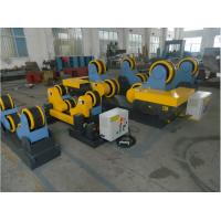 Wholesale Rubber Wheel Welding Turning Rolls with 10Ton Loading Capacity For Oil Tank from china suppliers