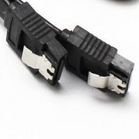 Wholesale Serial ATA SATA Red Cable 18cm Extension cable, flat, RoHs, UL Certificate from china suppliers