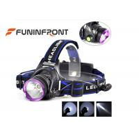 Buy cheap 10W Rechargeable Outdoor LED Headlamp, 3 Light Modes 1000LM Bike Headlight from wholesalers