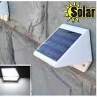 Buy cheap Stainless Steel Solar Lamp 4LED Powered Stairways Landscape Garden Path Wall Light Lamp from wholesalers