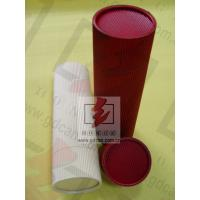 Quality Red Food Cardboard Tubing Packaging Biodegradable With Goods In Stock for sale