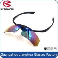 Wholesale OEM Prescription Sports Glasses Safety Sunglasses Strap With Lens UV400 from china suppliers