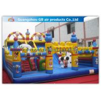 Wholesale Commercial Inflatable Amusement Park Castles / Kids Toys Mickey Mouse Bounce House from china suppliers