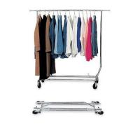 Wholesale Collapsible Single Clothing Display Rack with Chrome Plating Service Equipment from china suppliers