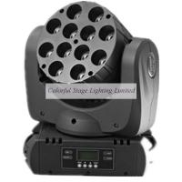 Wholesale 12x10W RGBW 4 in 1 MINI LED Moving Heads from china suppliers