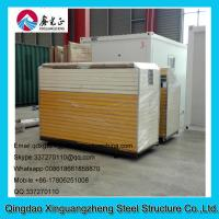 Wholesale Low cost and energy save sandwich panel frame contianer refugee camp tent house from china suppliers