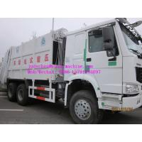Wholesale SINOTRUK HOWO 6x4 Garbage Compactor Truck 12m3 , 290/336/371hp , LHD&RHD from china suppliers