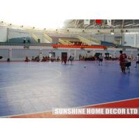 Buy cheap Multifunctional Polypropylene Floor Tiles With Resilient Interlocking System from wholesalers