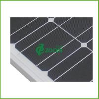 Wholesale Aluminum Frame 130W Custom Solar Panels Monocrystalline Deep Blue from china suppliers