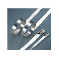 Wholesale Stainless Steel Heavy Duty Cable Ties For Cable Wiring Acid / Alkali Resistant from china suppliers