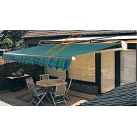 Outdoor Waterproof Manual or  Motorized  Retractalbe Folding Arm Awning