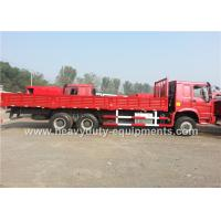 Wholesale Heavy Duty Comercial Cargo Truck 6x4 290HP 213 / 2200 kw / RPM with Howo 79 cabin from china suppliers