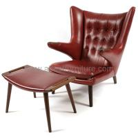 Wholesale replica modern classic furniture Hans Wegner Papa Bear Chair designer chair from china suppliers