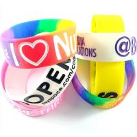 Wholesale Colorful Wristbands Sports Silicone Bracelets Rubber Band Bracelet from china suppliers