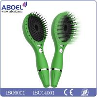 Wholesale Professional Vibration Ionic Custom Ionic Hair Brush Set Lightweight Green from china suppliers
