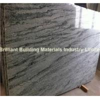 Quality China Wave Green Granite Big Slab, Natural Green Granite Slab for sale