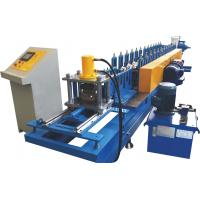 Quality 0.7~1.2mm Thickness Roller Shutter Door Roll Forming Machine With Perforation System for sale
