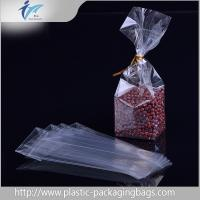 Wholesale Clear square Block Bottom Bags opp plastic food packaging bag accept OEM/ODM from china suppliers