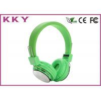 Wholesale Wireless Over Ear Headphones Travel Headphone Supports TF Card , FM Radio and 3.5mm AUX from china suppliers