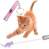 Wholesale OEM LED Pink Laser Pointer Light Pen With Bright Animation Mouse For Pet Cat from china suppliers