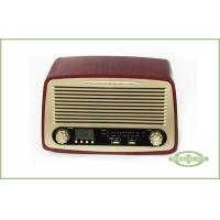 Wholesale Classic Style Radio with Alarm Clock , LCD Display with Backlight , AM/ FM radio from china suppliers