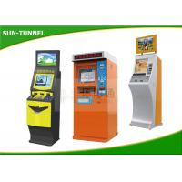 Wholesale Outdoor Touch Screen Queue Self Service Ticket Machine Floor Standing Water Proof from china suppliers