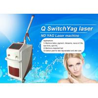 Wholesale Stationary Q Switch Laser Treatment For Pigmentation / Tattoo Temoval Beauty Machine from china suppliers
