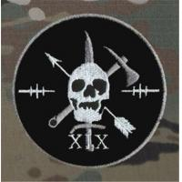 Wholesale Special Forces Skull Crossed Axes Military Patch Morale Patch from china suppliers