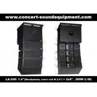 "Wholesale 380W Compact Double 8"" Line Array Speaker For Installation , Church , Conference, Nightclub from china suppliers"